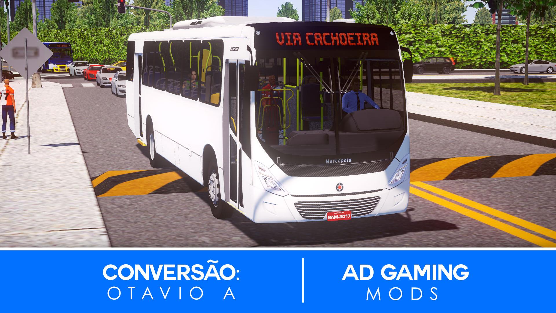 Mod do Marcopolo Torino 2014 OF-1721 BlueTec 5 (AC 2 PT) para Proton Bus Simulator