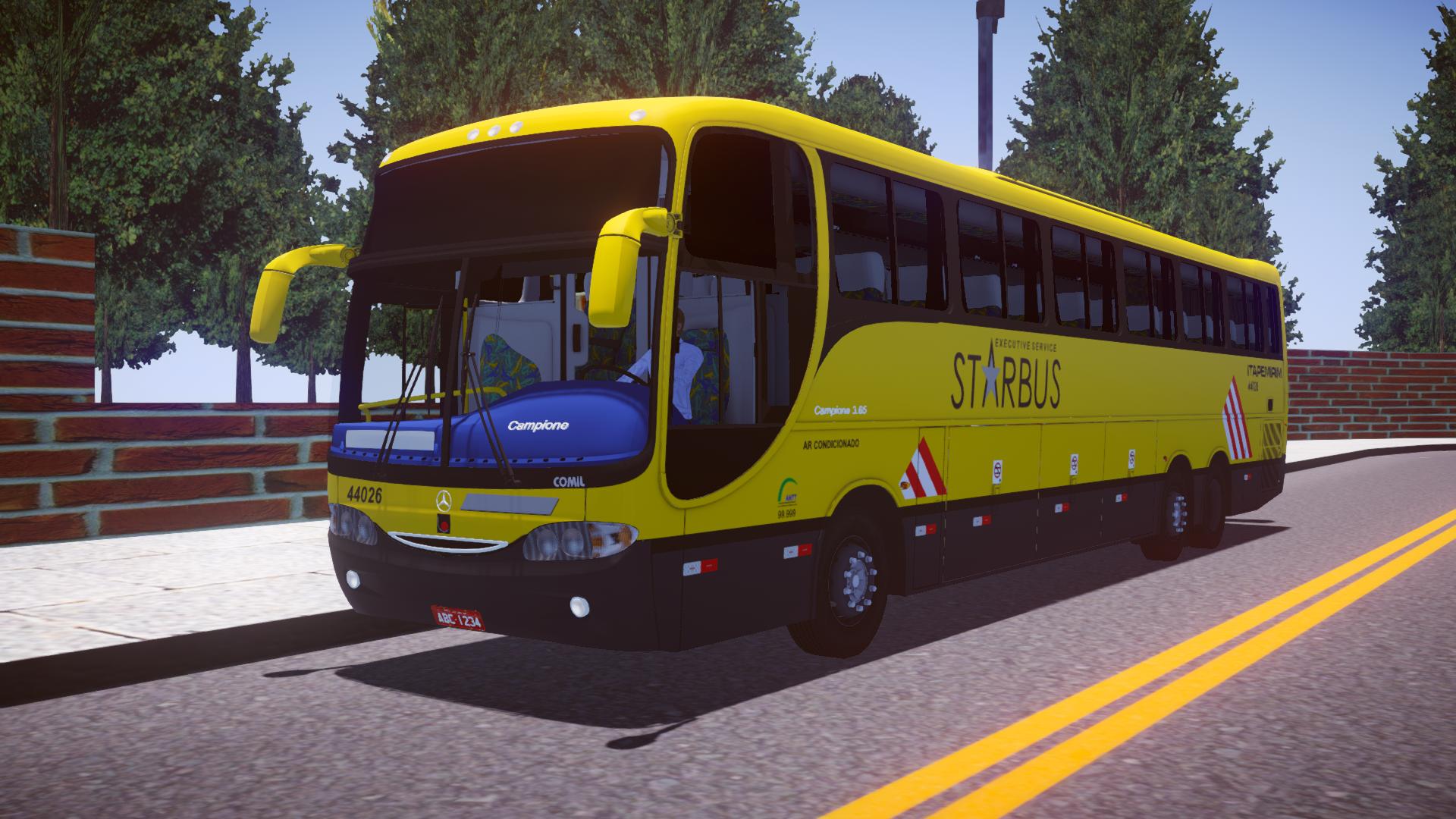 Mod do Comil Campione 3.65 O-400RSD 6×2 para Proton Bus Simulator/Road