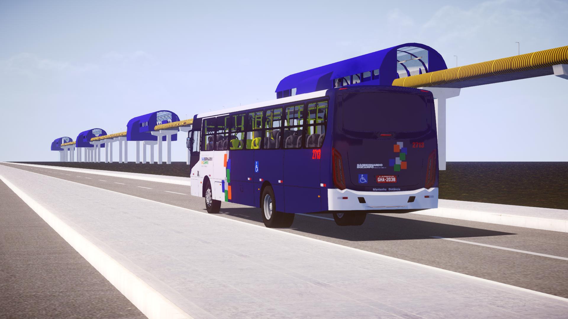 Mod do Mapa Elevado (1.0) para Proton Bus Simulator