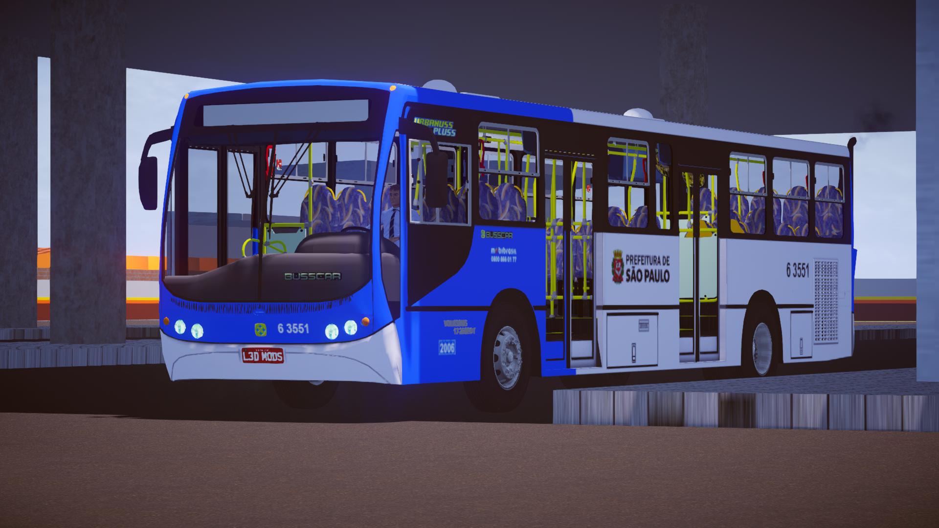 Mod do Busscar Urbanuss Pluss VW 17-260 EOT para Proton Bus Simulator