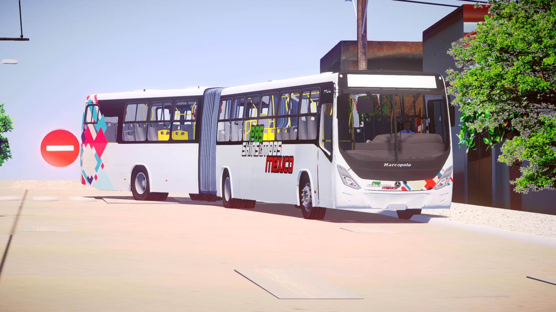 Mod do Marcopolo MP60 Express O-500MA BT5 (Articulado) para Proton Bus Simulator