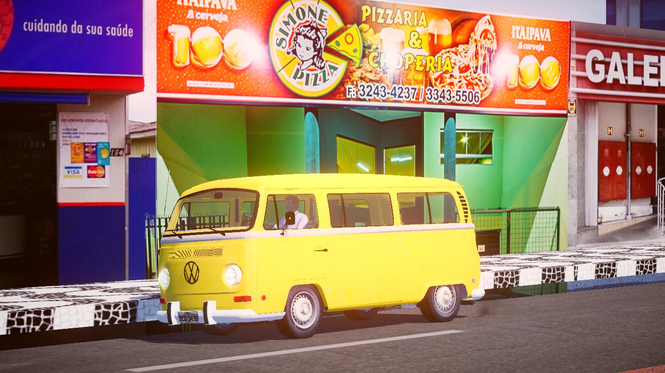 Mod da VW KOMBI para o Proton Bus Simulator