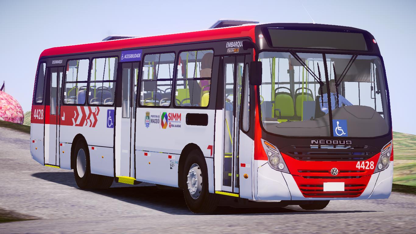 Mod do Neobus Mega Plus VW 17.230 OD Euro V Fase 2 para o Proton Bus Simulator