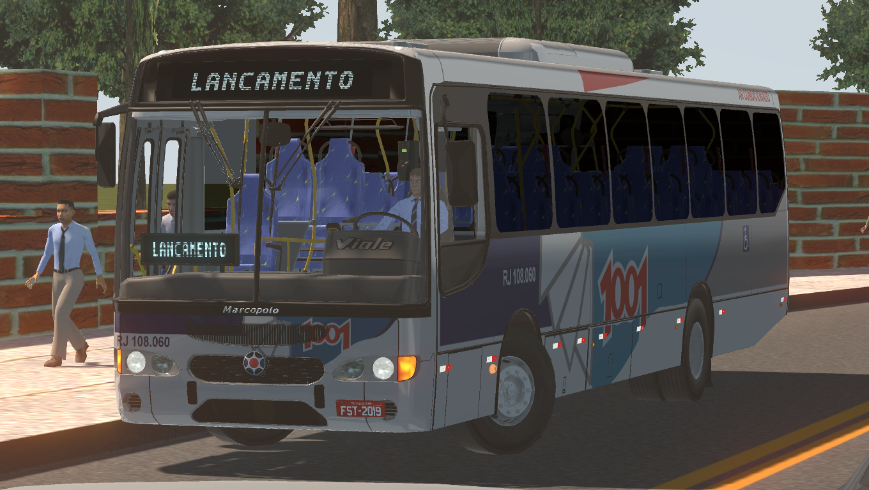 Marcopolo Viale OF-1722M 2P Padrão RJ/1001 Fase 2 – Proton Bus Simulator