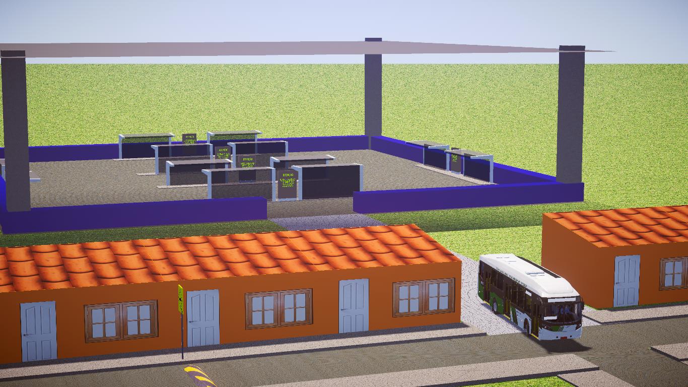 Mod De Mapa Jardim Aparecida para o Proton Bus Simulator