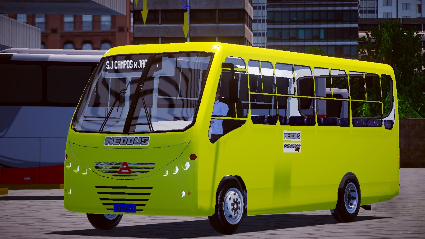 Mod do Neobus ThunderBoy Agrale MA 7.5 fase 2 para o Proton Bus Simulator