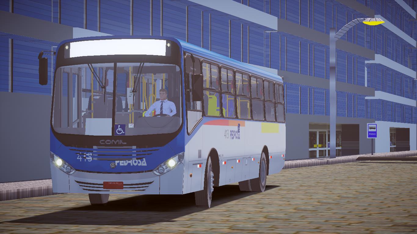 Mod de Mapa Ouro Verde City para o Proton Bus Simulator