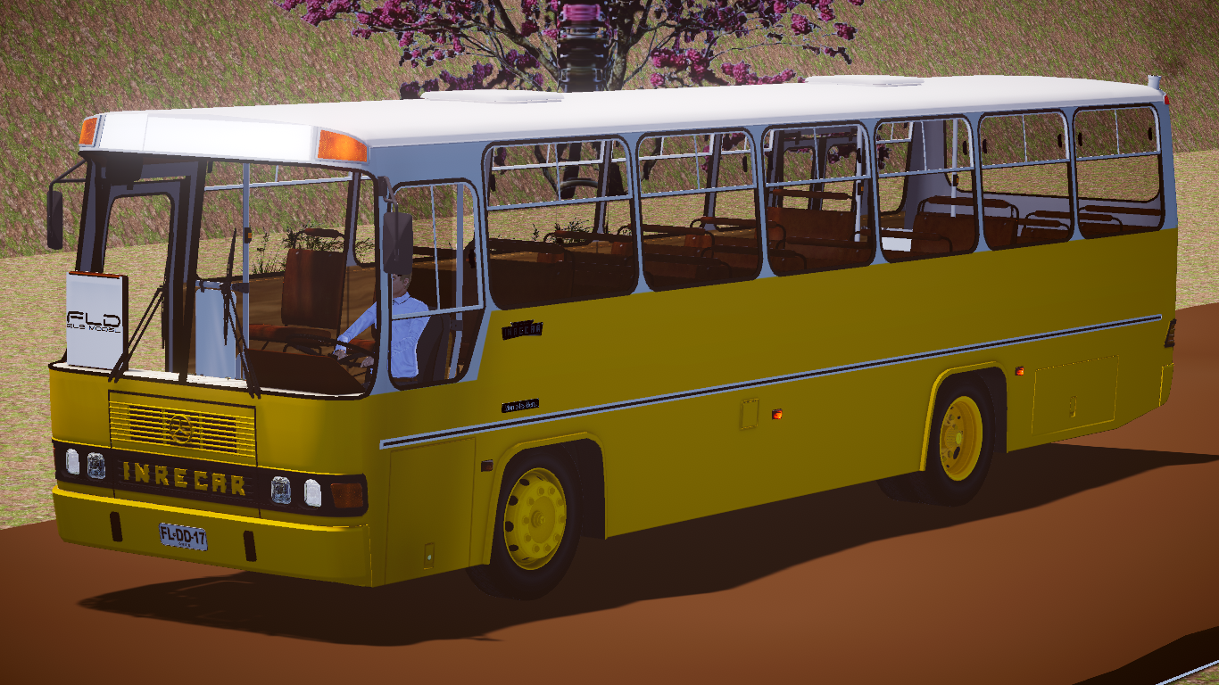 Mod do Inrecar Sagitário Mercedes-Benz OF-1318 fase 2 para o Proton Bus Simulator