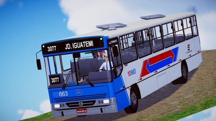 Mod do Busscar Urbanus 94 OF-1620 Fase 2 para o Proton Bus Simulator
