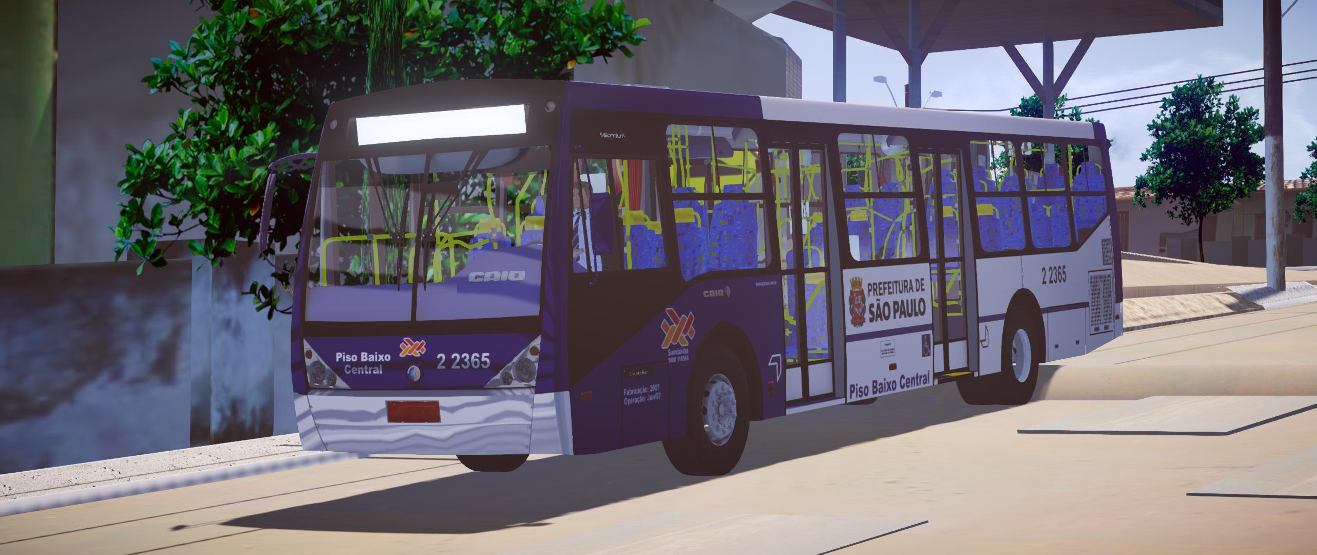 Mod do Caio Millennium II PBC O500M Euro III (SP) para Proton Bus Simulator