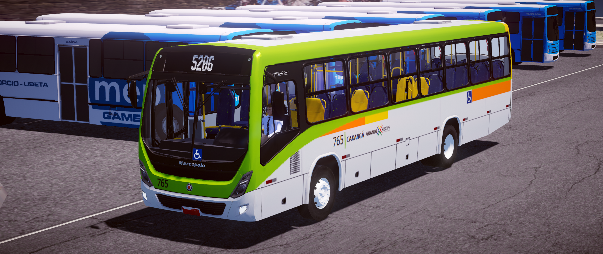 Mod do Marcopolo Torino 2014 VW 17-230 OD EV – Padrão Recife para Proton Bus Simulator