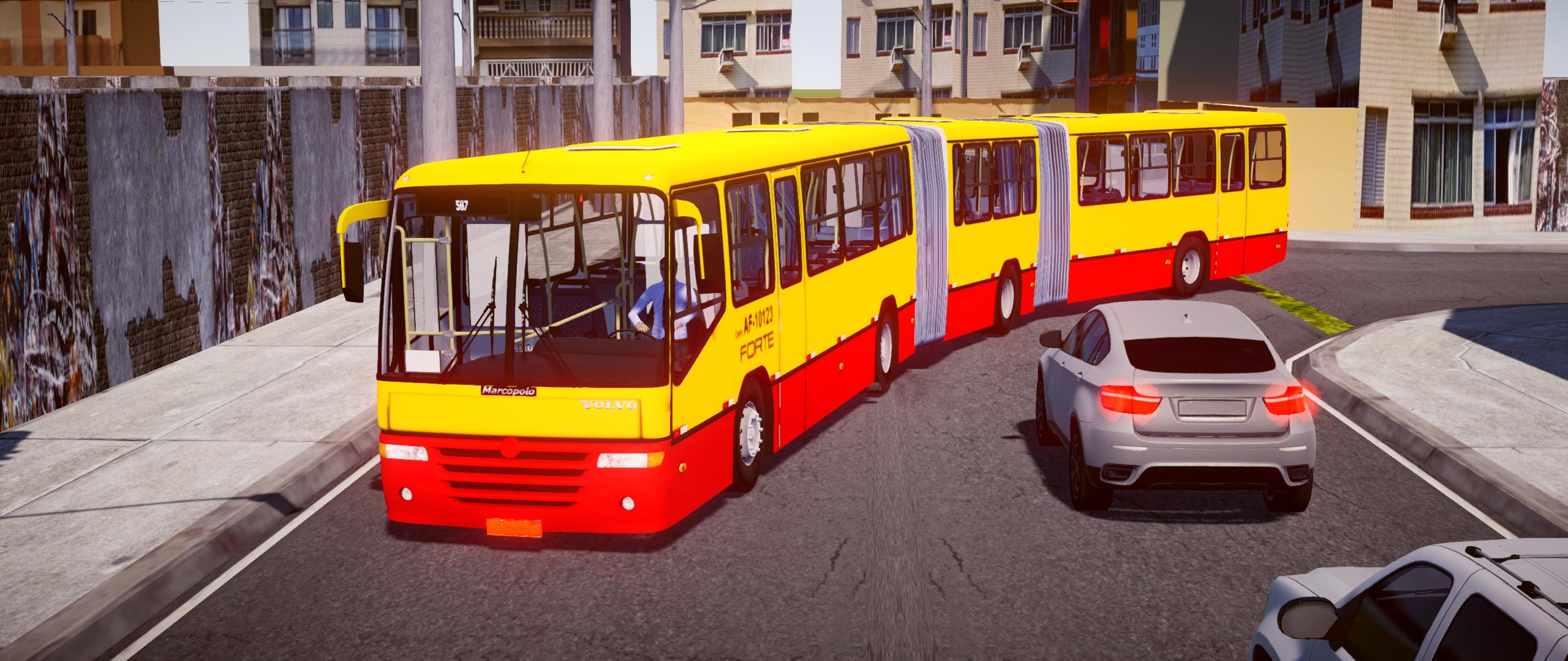 Marcopolo Torino LS 1999 Biarticulado Volvo B10M – Padrão Curitiba (Fase 2 de mods) para Proton Bus Simulator