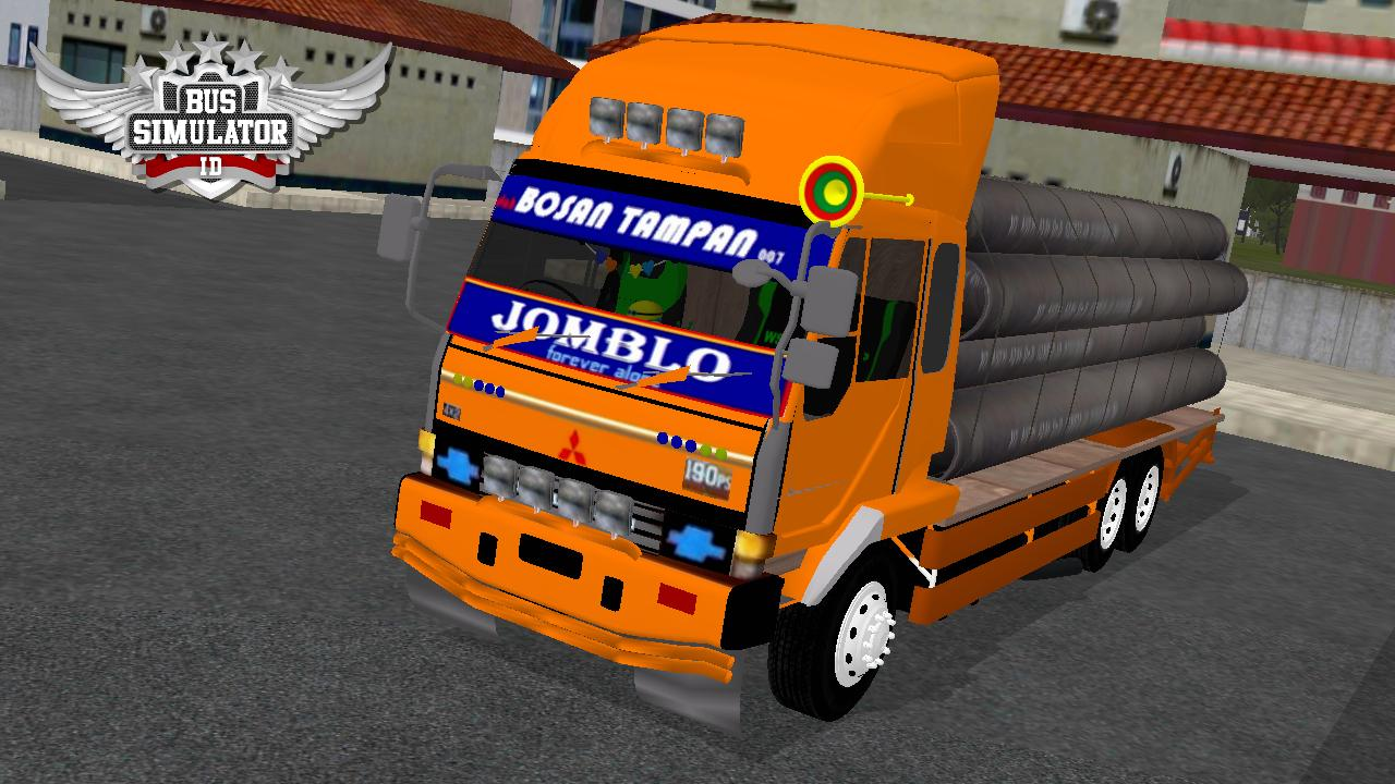 Bus Simulator Indonésia: Fuso Muatan Pipa (Download)
