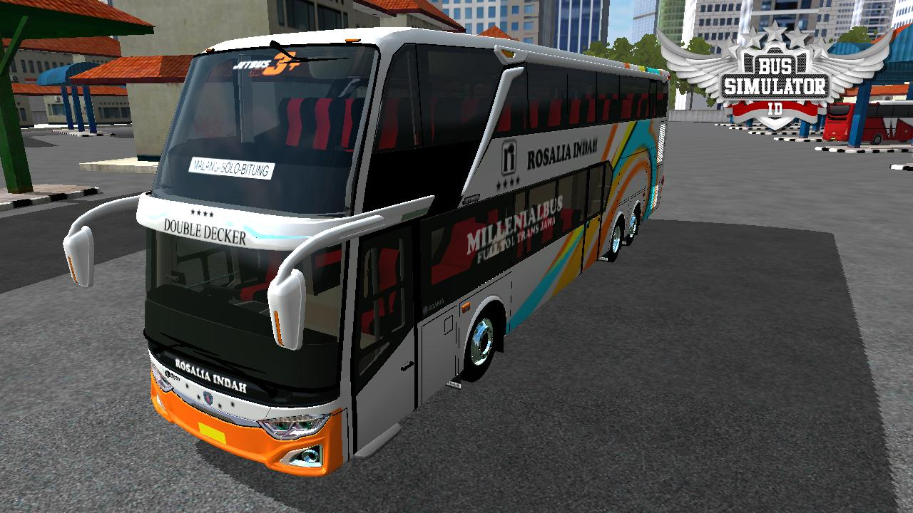 Bus Simulator Indonésia: New Mod SDD3 Ring Airs (Download)