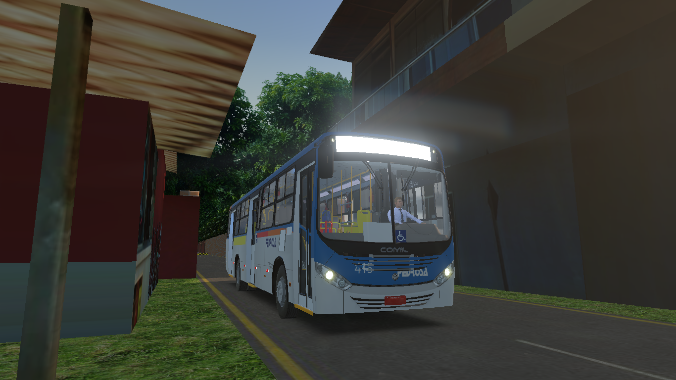 Mod do Mapa Ouro Branco V3.0 Fase 1 para o Proton Bus Simulator