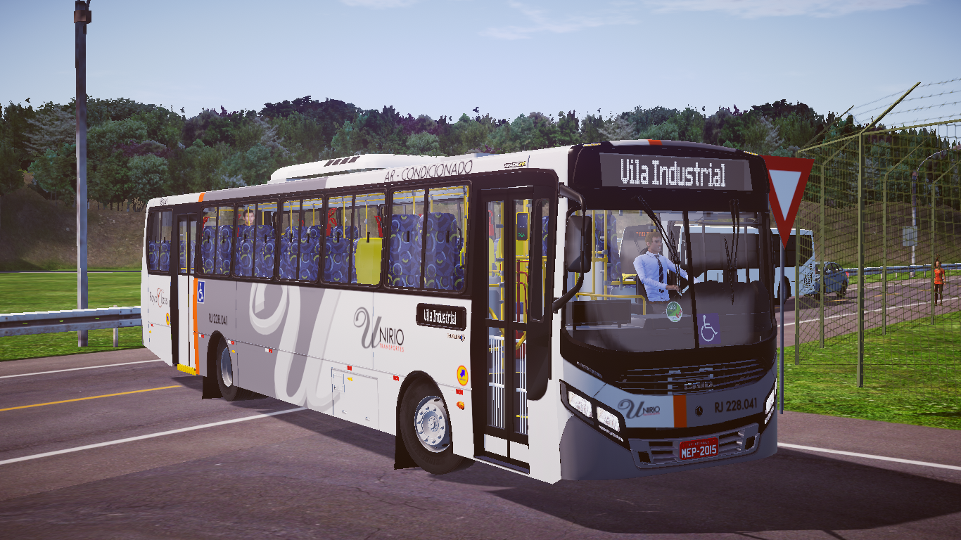 Mod do Caio Apache Vip IV OF-1721L BlueTec 5 Padrão N.S. Da Penha RJ Fase 2 para o Proton Bus Simulator
