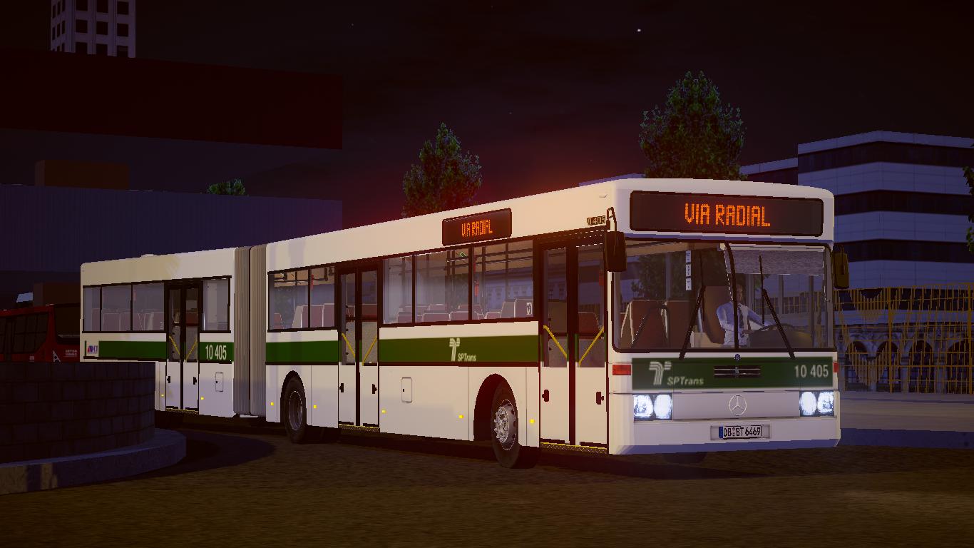 Mod do Mercedes-Benz O-405G Articulado Fase 1 e 2 para o Proton Bus Simulator