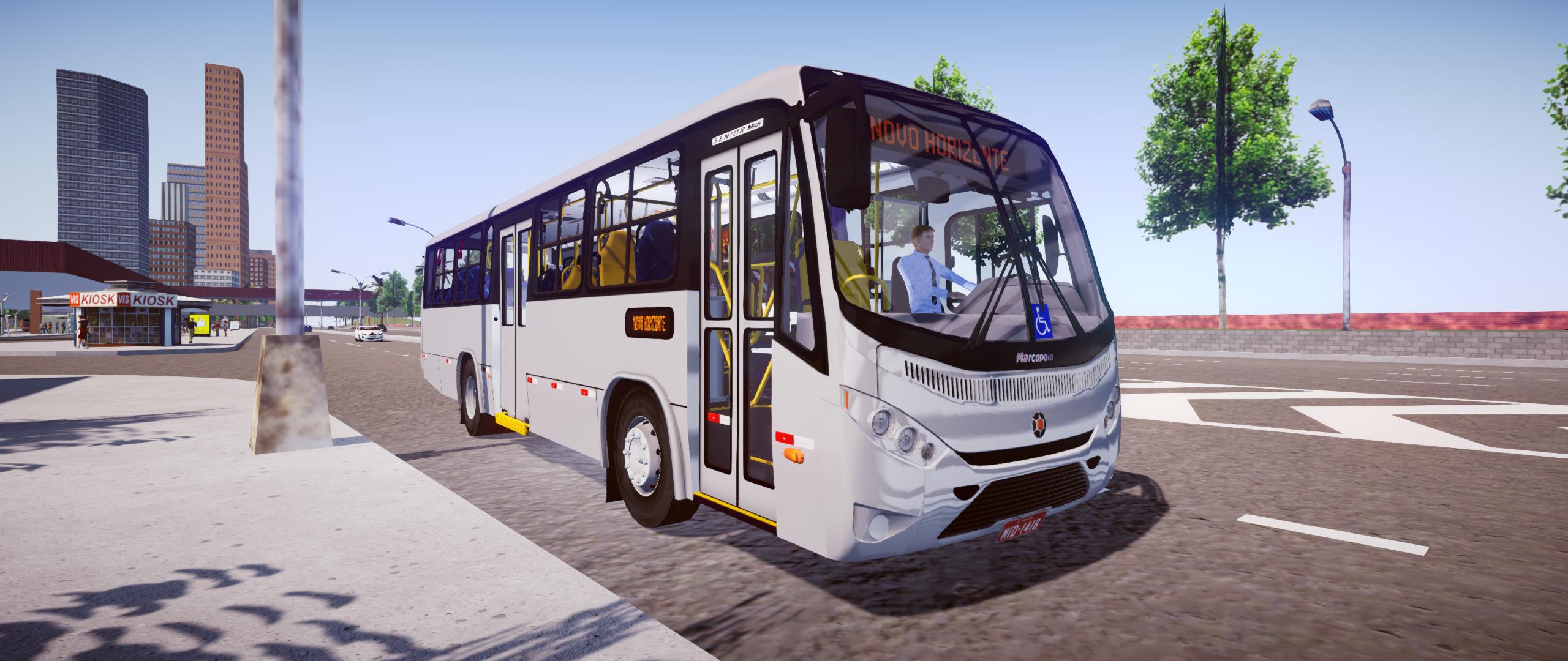 Marcopolo Senior Midi OF-1418 Mercedes-Benz para Proton Bus Simulator