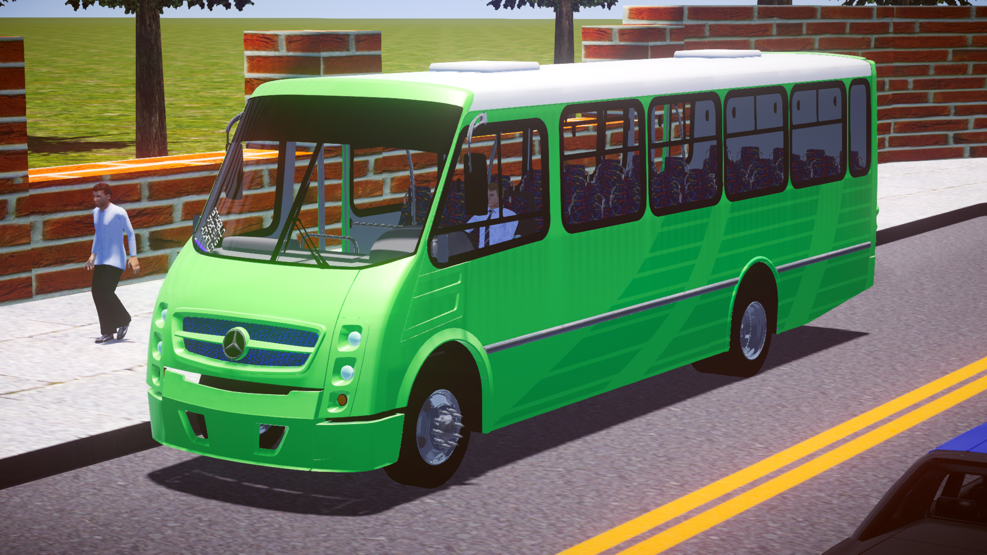 Operbus Austero/Operbus Tuning para Proton Bus Simulator