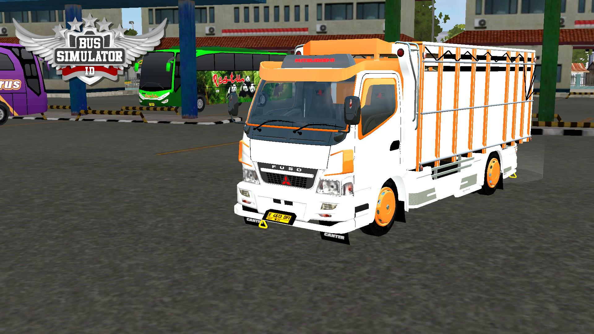 Bus Simulator Indonésia: New Canter Mod (Download)