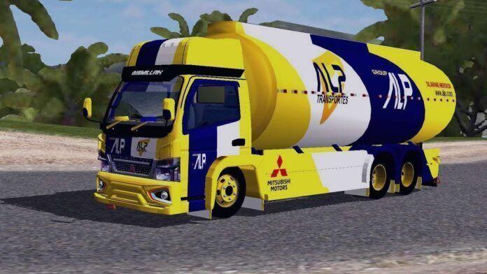 Bus Simulator Indonésia: Truck Canter Tangki Tronton Mbois (Download)