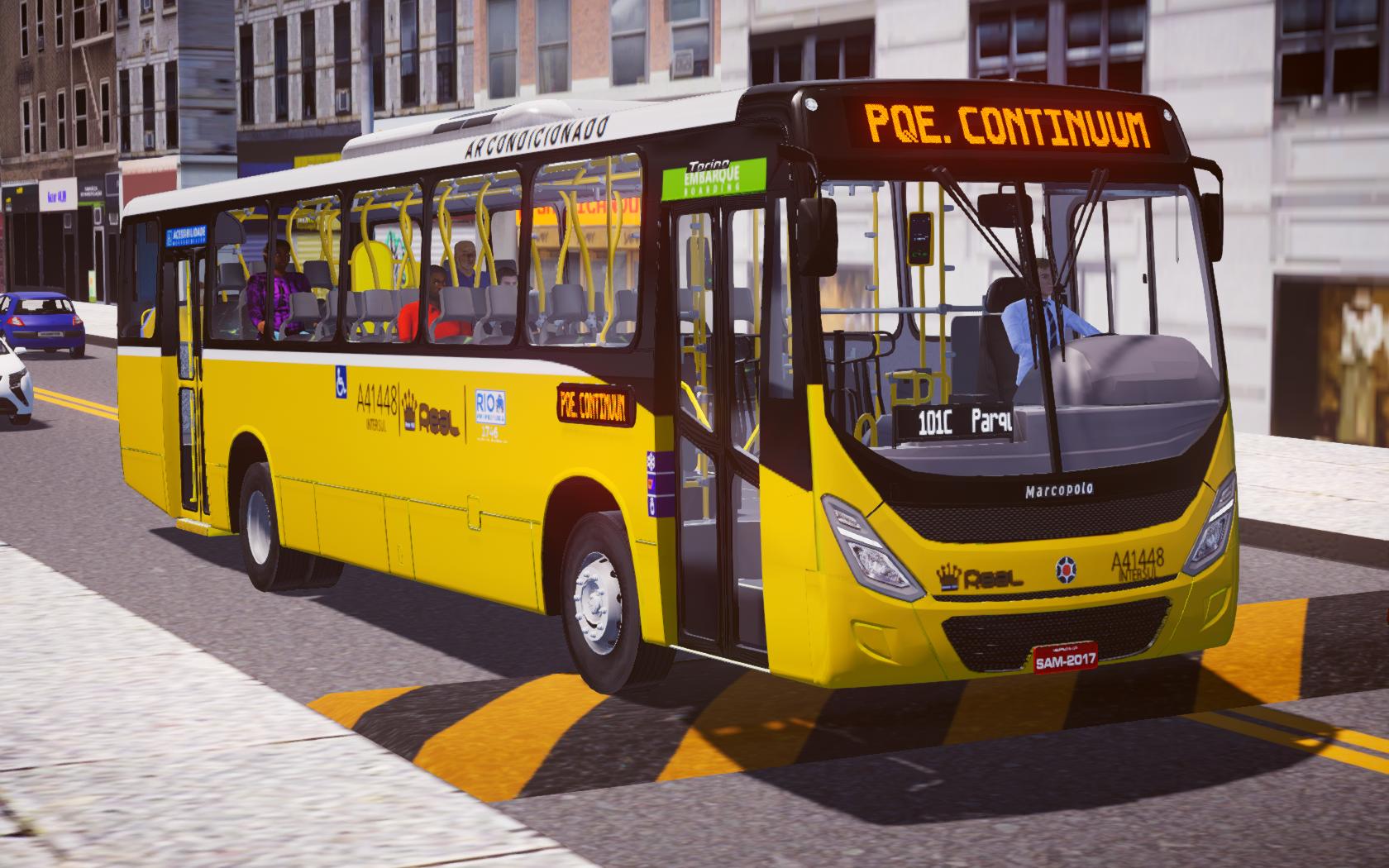 Marcopolo Torino 2014 VW 17-230 OD Euro V-Tronic (AC) para Proton Bus Simulator