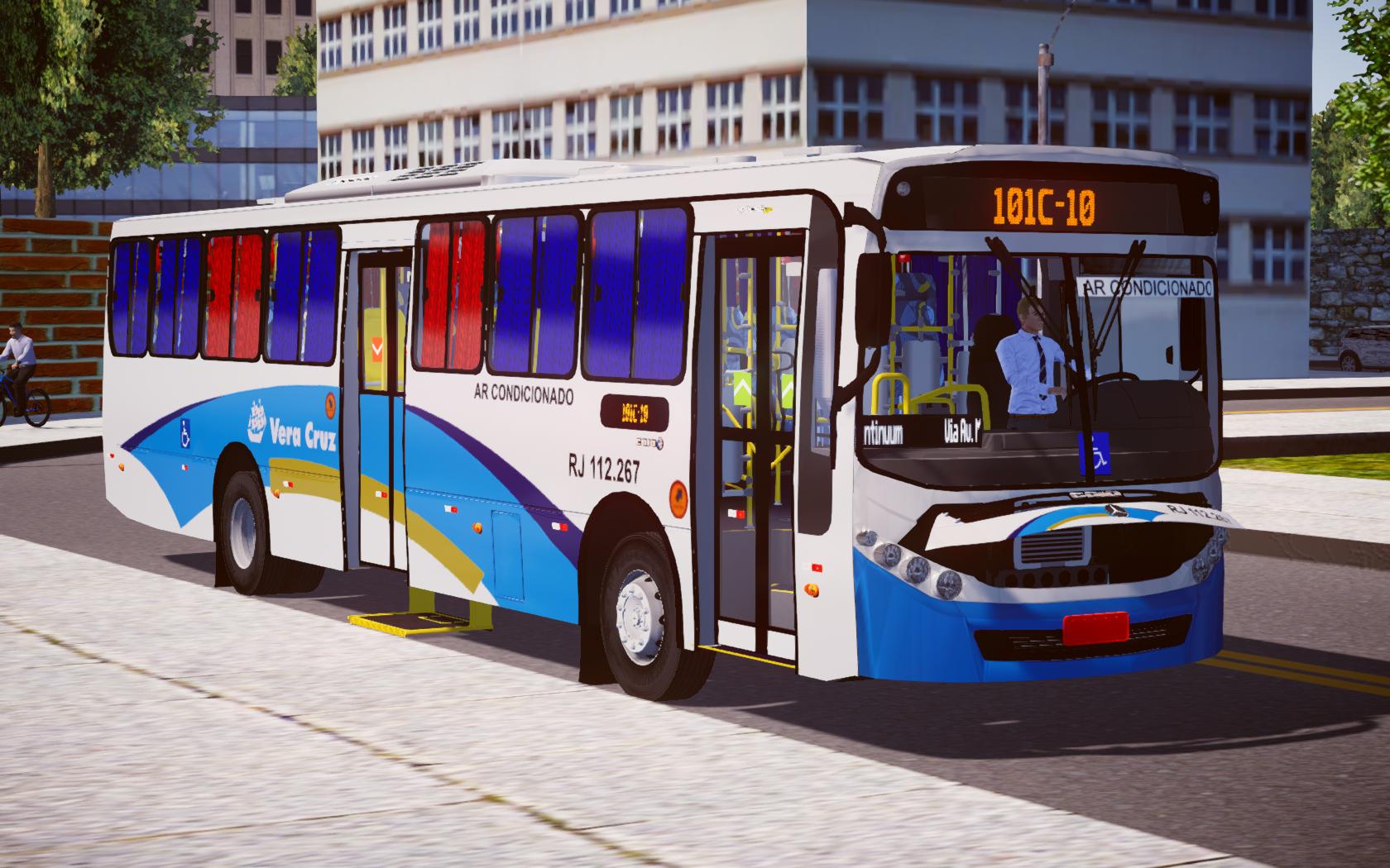 Caio Apache VIP III MB OF-1721 BlueTec 5 – Padrão Vera Cruz RJ (Fase 2) para Proton Bus Simulator