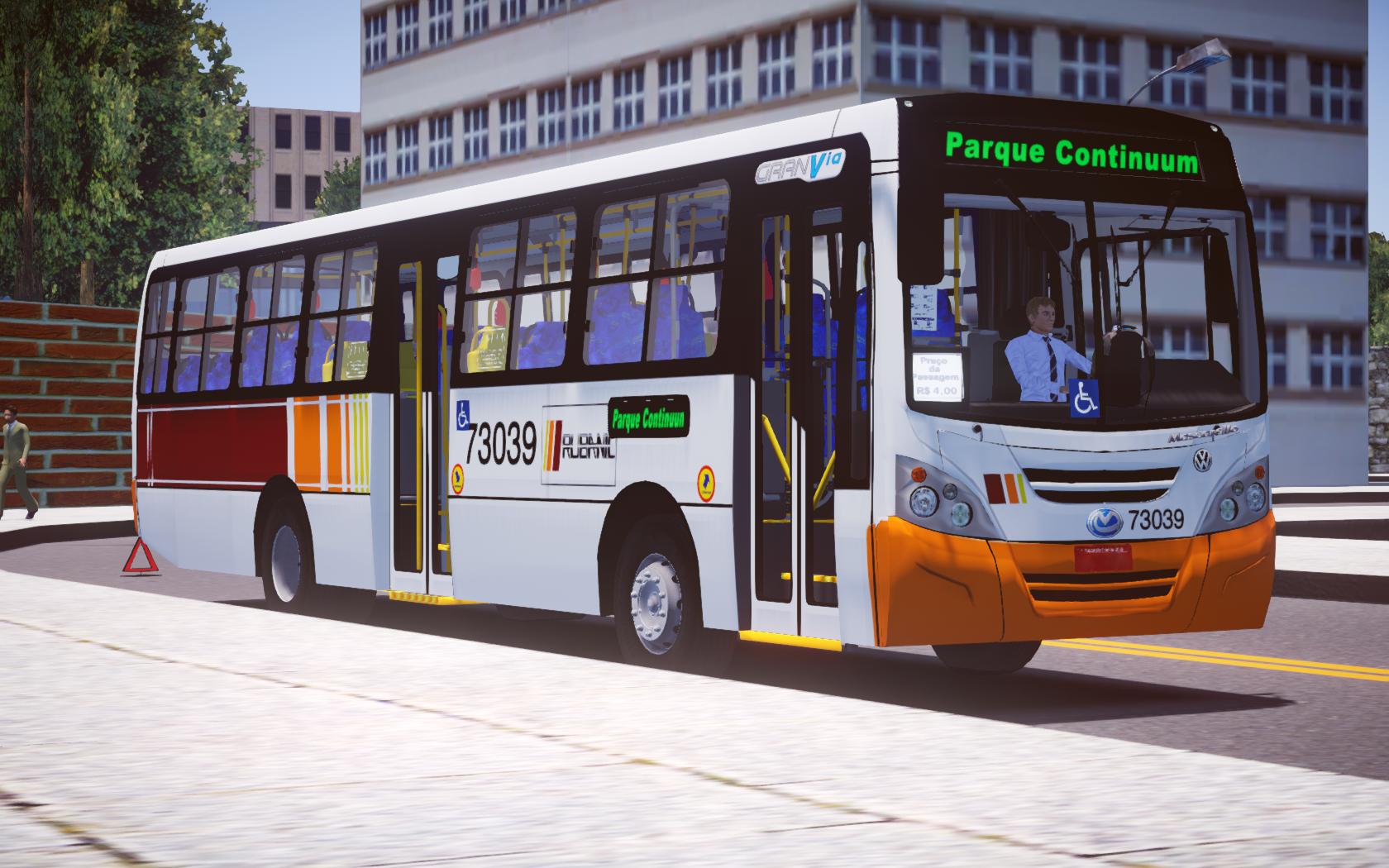 Mascarello Gran Via 2008 VW 17-230 EOD – Padrão Rio de Janeiro para Proton Bus Simulator