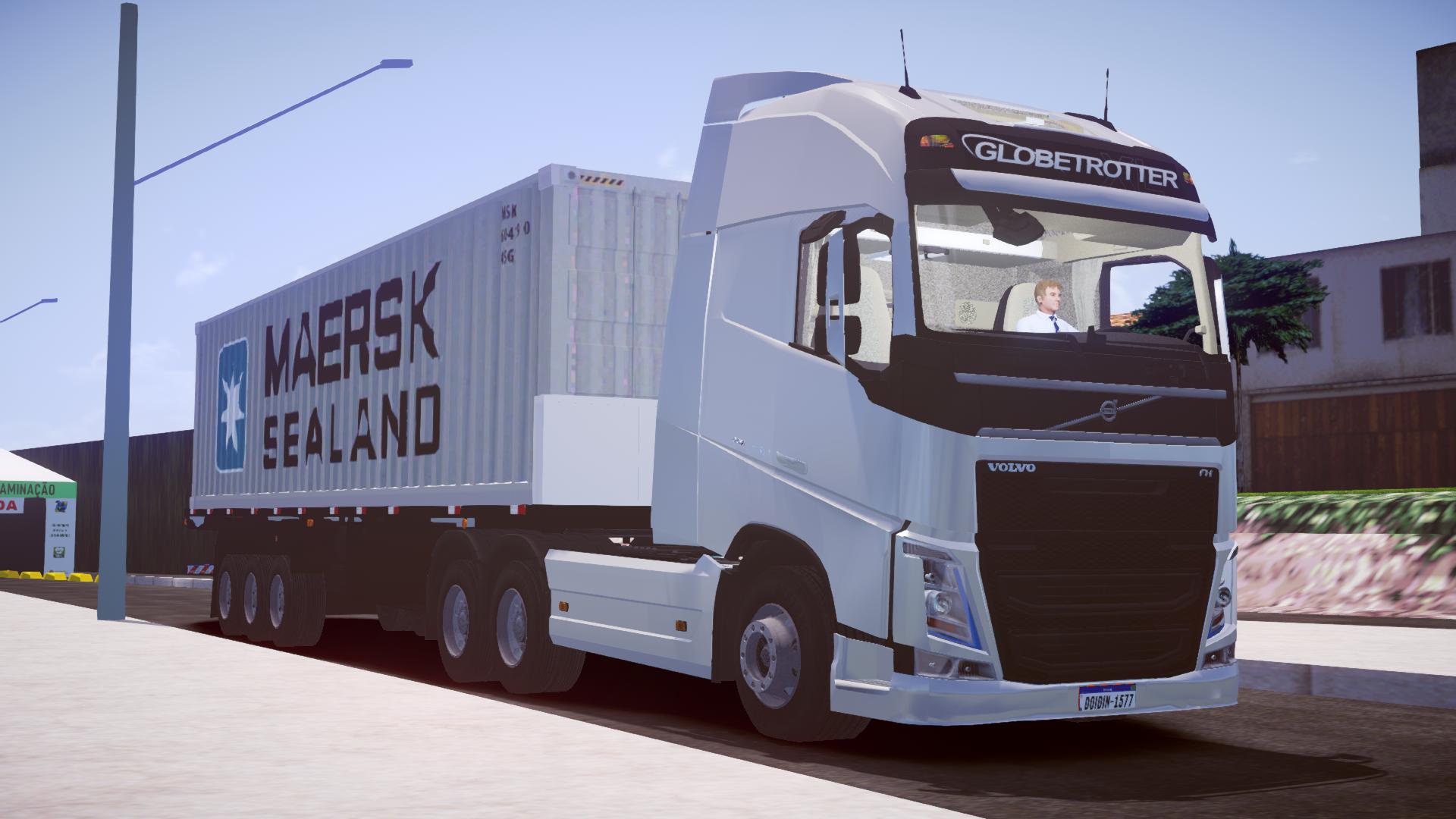 Volvo FH16 – Chassi 6×2 (Fase 1) para Proton Bus Simulator/Road