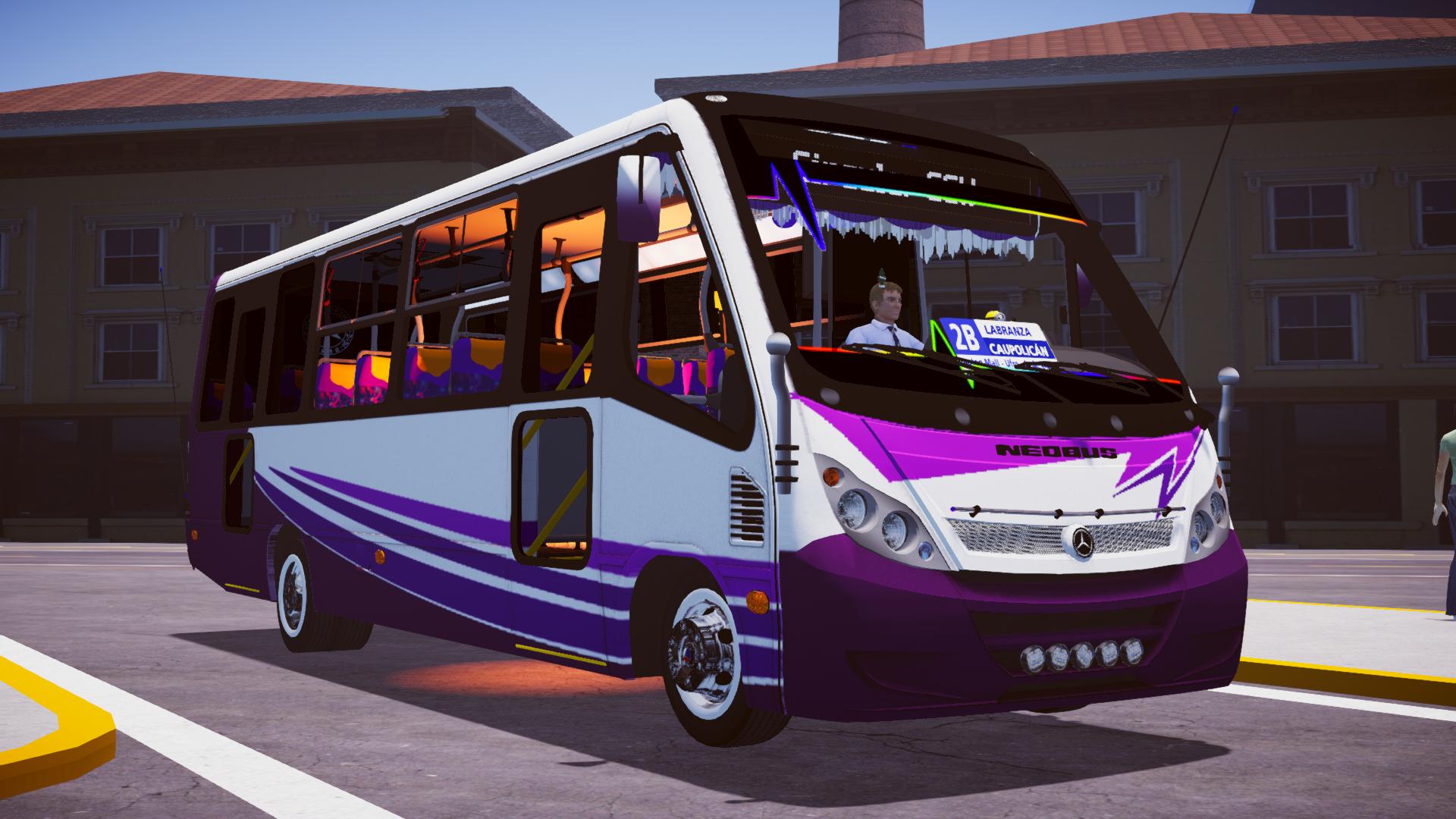 Neobus Thunder+ MB LO-915/Modificado (Fase 1) para Proton Bus Simulator/Road