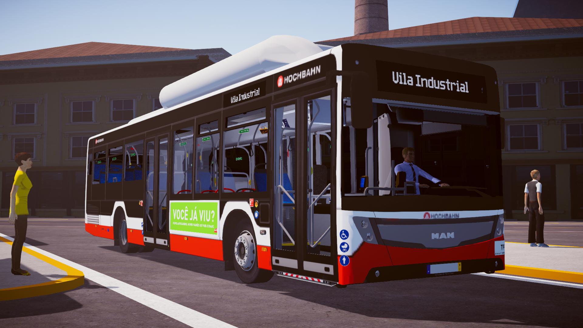 MAN Caetano City Gold (Fase 1) para Proton Bus Simulator/Road