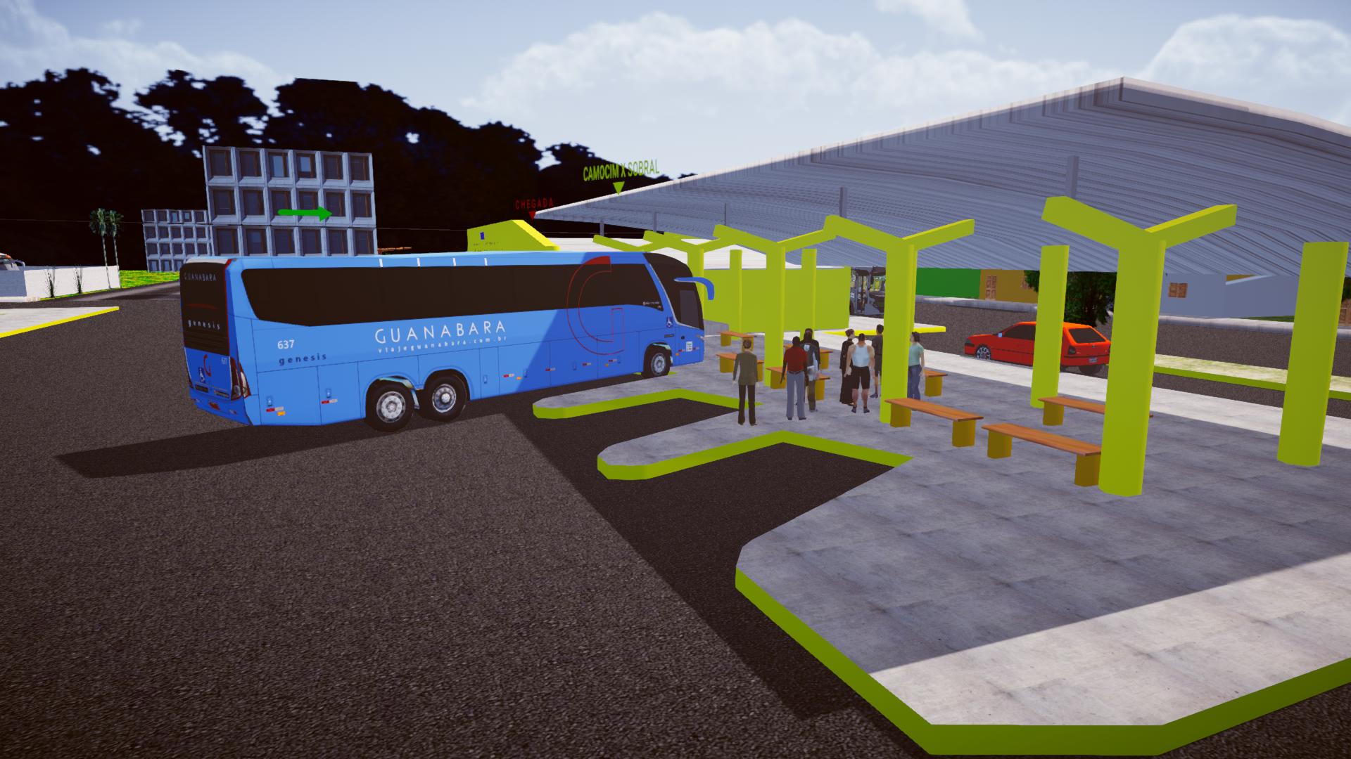 Mapa Ceará Extremo 2(Fase 2) para Proton Bus Simulator/Road
