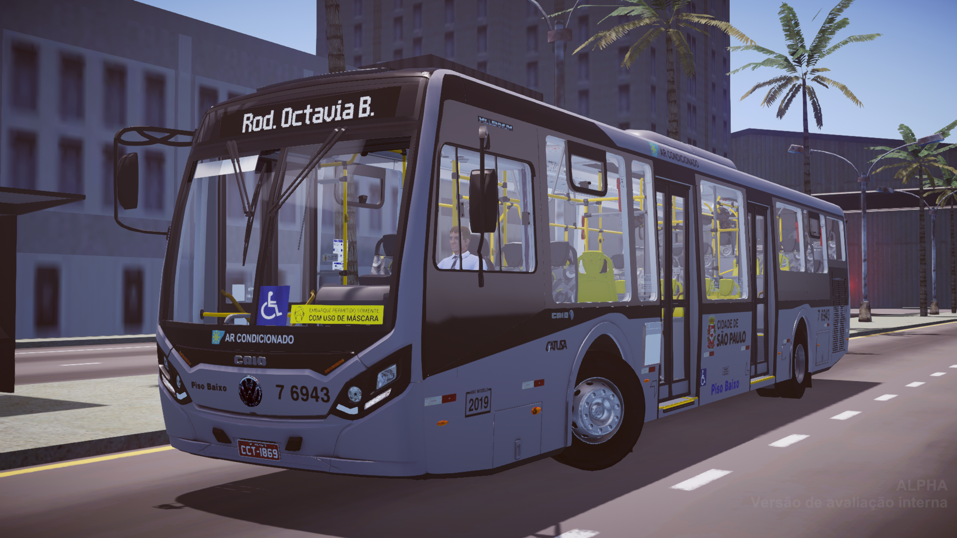 Caio Millennium IV VW 18.280 OTS LE – Padrão São Paulo (Fase 2) para Proton Bus Simulator/Road